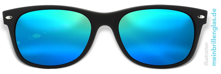 Qualitätsprodukte neu kommen an innovatives Design Voll im Trend: Verspiegelte Brillengläser - meinbrillenglas